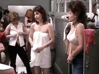 Horny Fledgling Switching Room, Celebrities Porno Scene