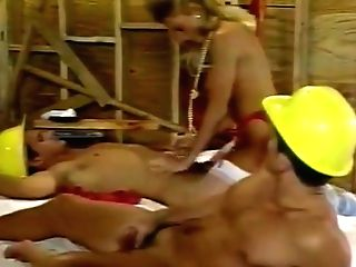 Crazy Blonde, Dual Invasion Orgy Movie