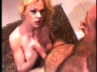 Hot Brazilian Blonde Tgirl & Andrea Nobili..