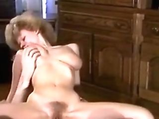 Antique - Hairy Blonde Gets Her Thicket Glazed
