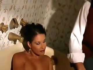 Best Brown-haired, Natural Tits Lovemaking Clip
