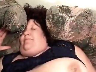 Sbbw Brown-haired Gang-fucked