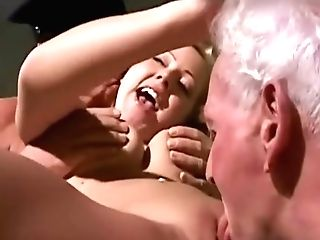 Antique Old Youthful - Teenie Woman Fucked By Two Wite Hair Grandpas